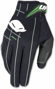 UFO Ninja Neoprene Black Motocross Gloves