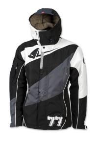 UFO Polar Jacket - Black White (front)