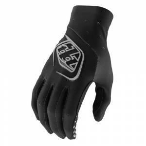 Troy Lee Designs SE Ultra Solid Black Motocross Gloves