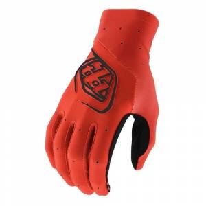 Troy Lee Designs SE Ultra Solid Orange Motocross Gloves