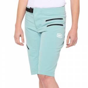100% Airmatic Seafoam Women's Motocross Shorts