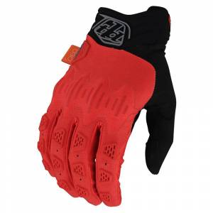 Troy Lee Scout Gambit Orange Motocross Gloves