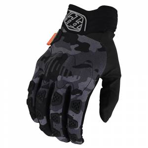 Troy Lee Scout Gambit Camo Grey Gloves