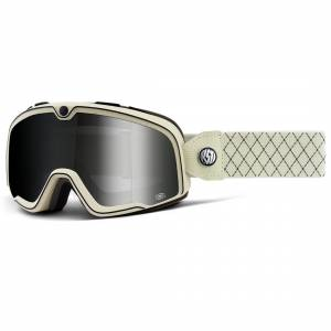 100% Barstow Classic Roland Sands Silver Mirror Lens Motocross Goggles