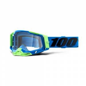 100% Racecraft 2 Fremont Clear Lens Motocross Goggles