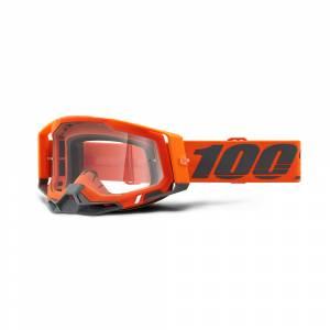 100% Racecraft 2 Kerv Clear Lens Goggles