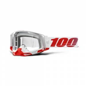 100% Racecraft 2 St-Kith Clear Lens Motocross Goggles