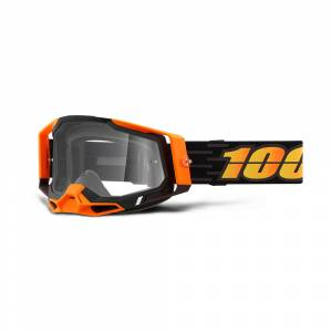 100% Racecraft 2 Costume 2 Clear Lens Motocross Goggles