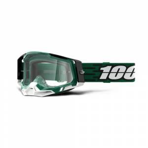 100% Racecraft 2 Milori Clear Lens Motocross Goggles