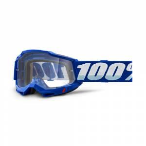 100% Accuri 2 Blue Clear Lens OTG Goggles