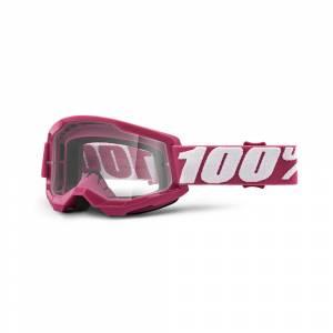 100% Strata 2 Fletcher Clear Lens Motocross Goggles
