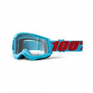 100% Strata 2 Summit Clear Lens Motocross Goggles