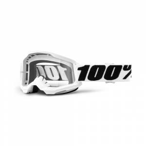 100% Strata 2 Everest Clear Lens Motocross Goggles