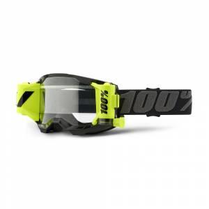 100% Strata 2 Forecast Clear Lens Motocross Goggles