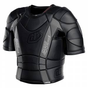 Troy Lee Kids UPS7850 HW Solid Black Chest Protector