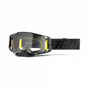 100% Armega Nightfall Clear Lens Motocross Goggles