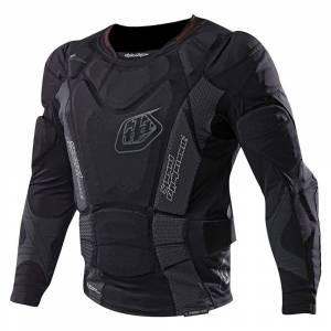 Troy Lee Kids UPL7855 HW Solid Black Body Protector