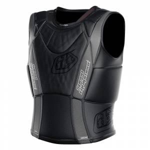 Troy Lee Kids UPV3900 HW Solid Black Chest Protector