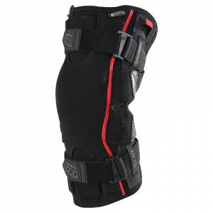 Alpinestars Bionic Flex Black Red Knee Guard