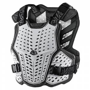 Troy Lee Kids Rockfight White Chest Protector