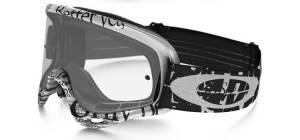 Oakley O Frame Goggles - Tagline Black White
