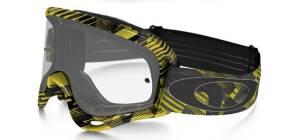 Oakley O Frame Goggles - Digi Slash Yellow 24K Clear