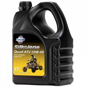 Silkolene QUAD ATV 10W-40 Semi-Synthetic 4T Engine Oil - 4 Litres