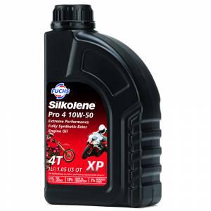 Silkolene PRO 4 XP SAE 10W-50 Synthetic Engine Oil - 1 Litre