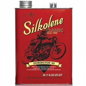 Silkolene Donnington SAE 40 Classic & Vintage Mineral Engine Oil - 4 Litres