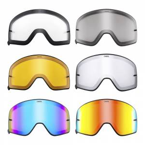 ONeal B-50 Black Frame Replacement Goggle Lens