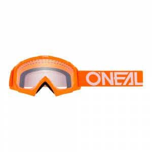ONeal Kids B-10 SOLID Orange White Motocross Goggle