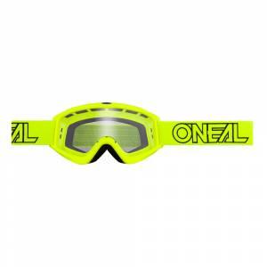 ONeal B-Zero Neon Yellow Clear Lens Motocross Goggles 10pcs Box