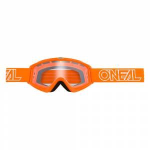 ONeal B-Zero Orange Clear Lens Motocross Goggles 10pcs Box