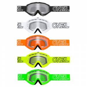 ONeal B-Zero Colour Assortment Clear Lens Motocross Goggles 10pcs Box