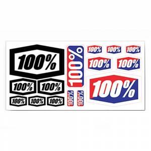 "100% Decal Sheet 8"" x 4"""