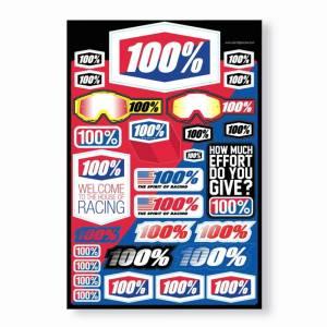 "100% Decal Sheet 12"" x 18"""