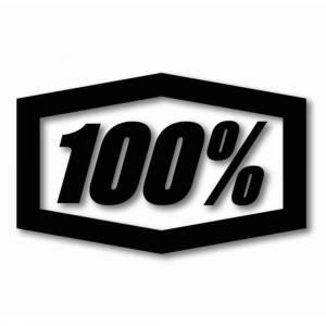 """100% Die Cut 16"""" Black Trailer Decal"""