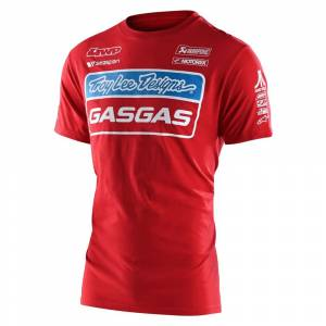 Troy Lee Gas Gas Red Team T-Shirt