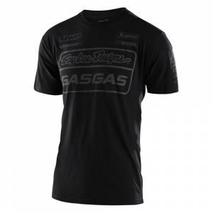 Troy Lee Gas Gas Black Team T-Shirt