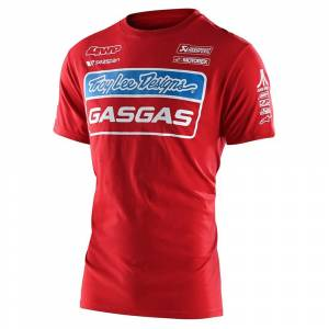 Troy Lee Gas Gas Kids Red Team T-Shirt
