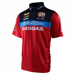 Troy Lee Gas Gas Red Team Pit Shirt