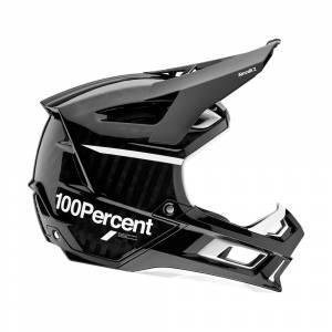 100% Aircraft 2 Black White Mountain Bike Helmet