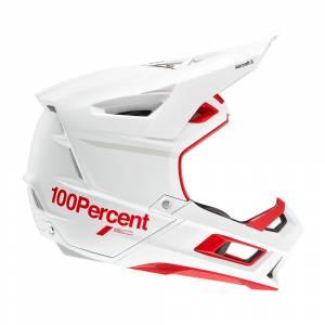 100% Aircraft 2 Red White Mountain Bike Helmet