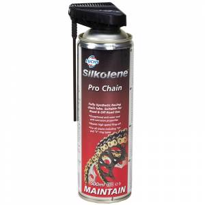 Silkolene PRO CHAIN Fully Synthetic Racing Chain Lubricant - 500ml