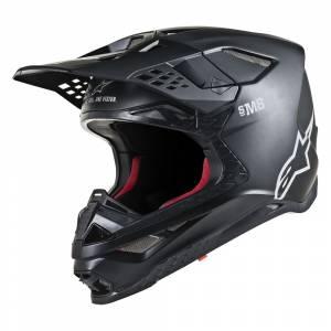 Alpinestars Supertech S-M8 Contact Light Orange Cool Grey Motocross Helmet