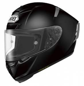 Shoei X-Spirit 3 Plain Black Full Face Helmet