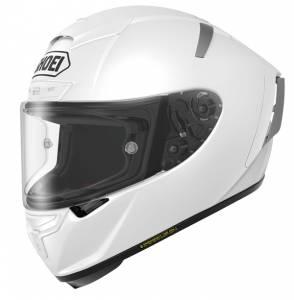 Shoei X-Spirit 3 Plain White Full Face Helmet