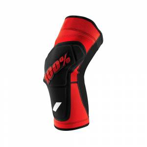 100% Ridecamp Red Black Knee Guard