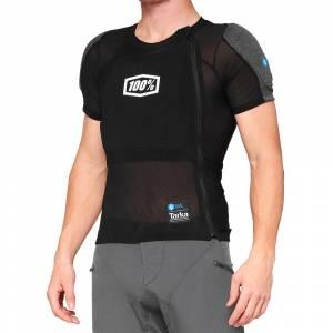 100% Tarka Black Short Sleeve Protection Shirt