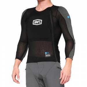 100% Tarka Black Long Sleeve Protection Shirt